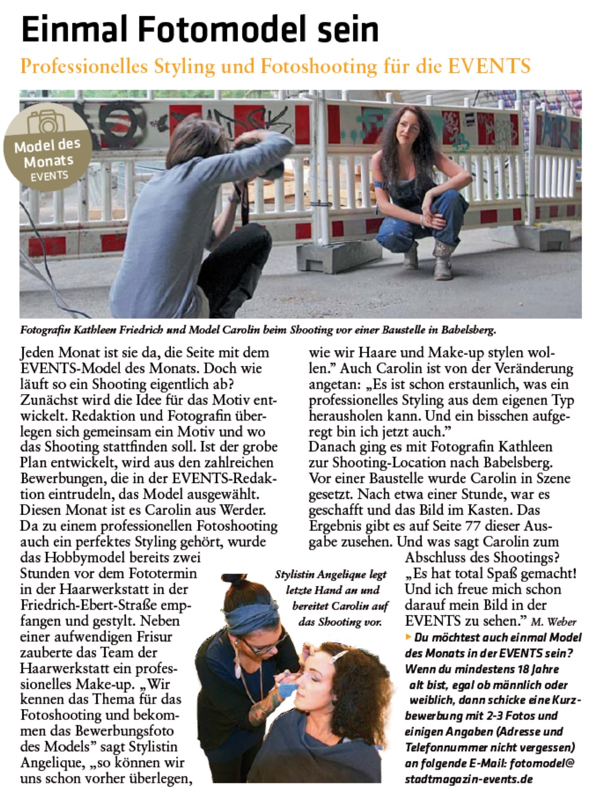 Presse - Stadtmagazin EVENTS
